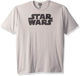 Star Wars Mens Simplest Logo Graphic Tee
