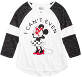 Disney Disney'sandreg; Minnie Mouse Long-Sleeve Top, Big Girls (7-16)