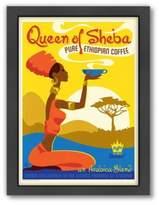 "Bed Bath & Beyond Americanflat ""Queen of Sheba"" Coffee Digital Print Wall Art"