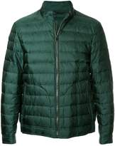 Gieves & Hawkes quilted bomber jacket