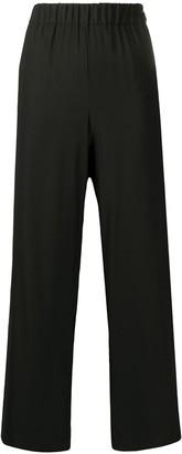 P.A.R.O.S.H. Elasticated Waist Wide Leg Trousers