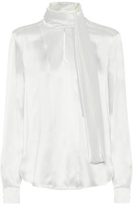 Max Mara Salita silk-satin blouse