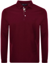 Aquascutum London Placket Polo T Shirt Red