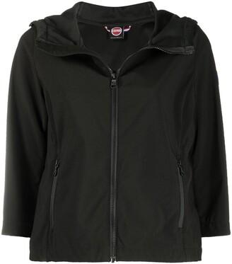 Colmar Cropped Logo-Patch Jacket