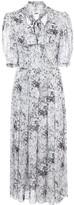 ADAM by Adam Lippes bow neck midi dress