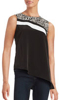Calvin Klein Contrast Patterned Shell