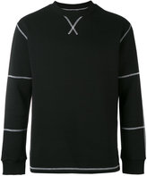 Blood Brother Count sweatshirt - men - Cotton/Polyester - XS