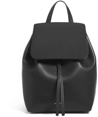 Mansur Gavriel Black Mini Backpack - Flamma