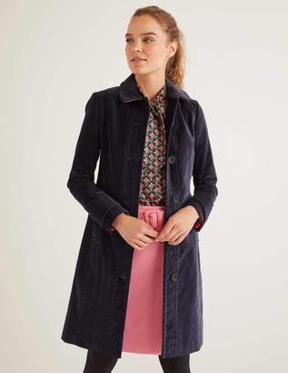 Boden Gwyn Velvet Coat