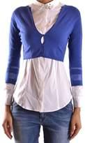 Liu Jo Women's Blue Polyester Cardigan.