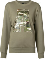 Alexandre Vauthier 'A' sweatshirt - women - Cotton - 1