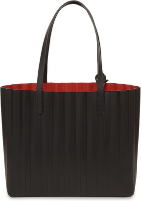 Mansur Gavriel Black Pleated Tote - Flamma
