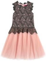 Derhy Kids Lace and tulle dress