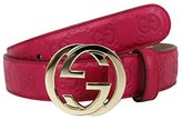 Gucci Buckle Interlocking G Belt 114874 (, Guccissima Leather 5614)