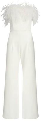 16Arlington Taree Feather Jumpsuit