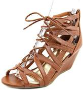 Material Girl Hera Women US 9 Brown Wedge Sandal