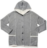 PJ Salvage Sherpa Hoodie - Heather Grey