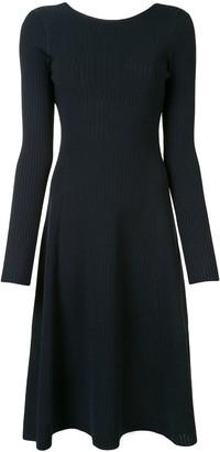 Victoria Beckham Open Back Knitted Dress