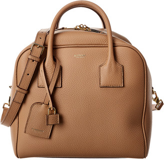 Burberry Medium Cube Leather Tote