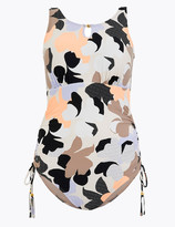 Marks and Spencer Post Surgery Printed Bandeau Swimsuit