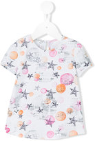 John Galliano star print t-shirt