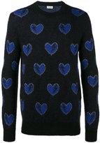 Saint Laurent Mohair Hearts Sweater
