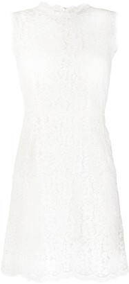 Dolce & Gabbana lace shift short dress