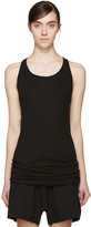 Boris Bidjan Saberi Black Ribbed Tank Top