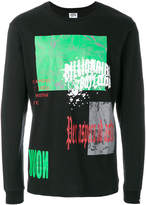 Billionaire Boys Club collage print T-shirt