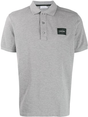 Calvin Klein Logo Patch Polo Shirt