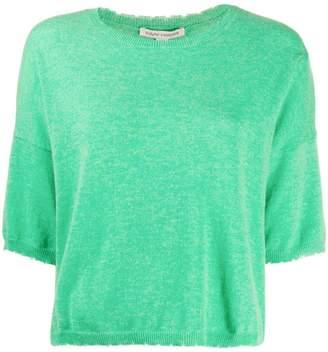 Autumn Cashmere shortsleeved sweater