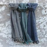 Aura Que Hansilo Chunky Woven Cotton Unisex Scarf