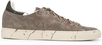 Buttero Paint Splatter Low-Top Sneakers