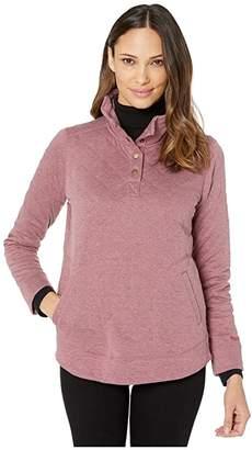 Marmot Roice Long Sleeve Pullover (Turtledove Heather) Women's Clothing