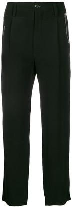 Yohji Yamamoto Zipped Pocket Trousers