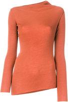 Jil Sander Navy plain pullover