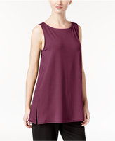 Eileen Fisher Jersey Sleeveless Tunic