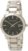 Burberry Men's BU9001 Large Check Stainless Steel Bracelet Dial Watch