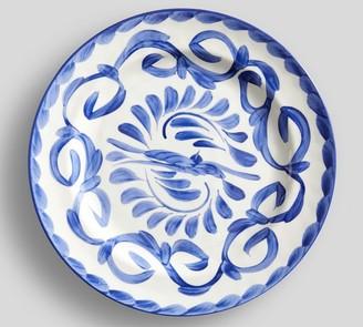 Pottery Barn Puebla Melamine Dinner Plates, Set of 4