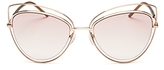 Marc Jacobs Floating Cat Eye Sunglasses, 56mm