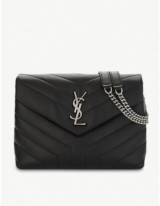 Saint Laurent Loulou Monogram leather cross-body bag