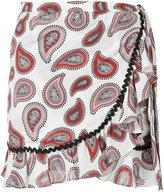 Dodo Bar Or - paisley mini skirt - women - Silk - 40