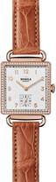 Shinola Cass Watch with Diamonds, 28mm x 27mm