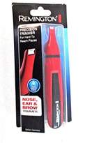 Remington ND3150CDN Pocket Size Battery Operated Travel Nose Ear Trimmer, Red