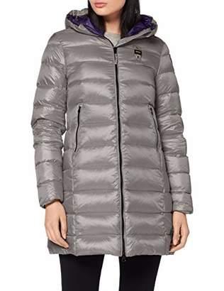 Blauer Women's Impermeabile/Trench Lunghi Imbottito Piuma Coat,X (Size: 2)