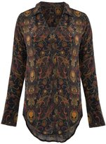 OSKLEN paisley silk shirt - women - Silk - P