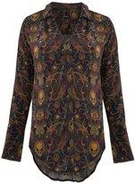 OSKLEN paisley silk shirt