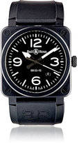 Bell & Ross Men's BR 03-92 Black Matte Watch-BLACK