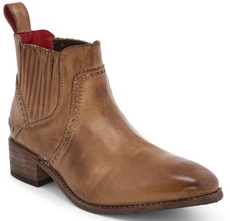 Bed Stu Leather Chelesa Western Booties - Ellice