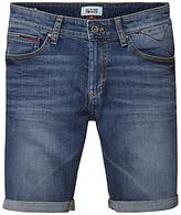 Hilfiger Denim Scanton Denim Shorts, Bright Blue Dark